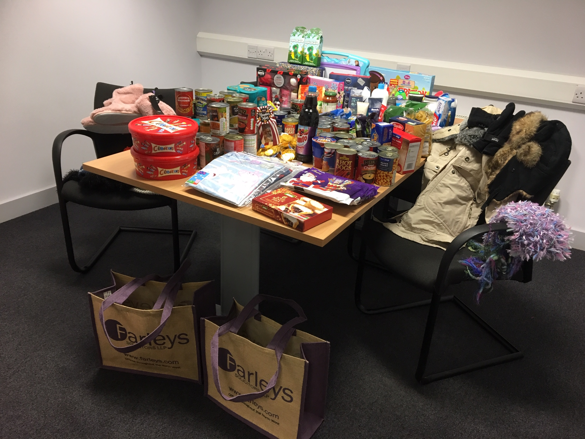 Solicitors' Christmas Collection Supports North West Homeless