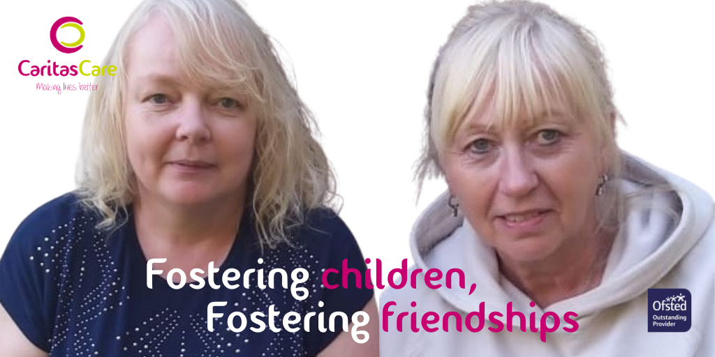 Fostering Children, Fostering Friendships…a story of 2 Janes!