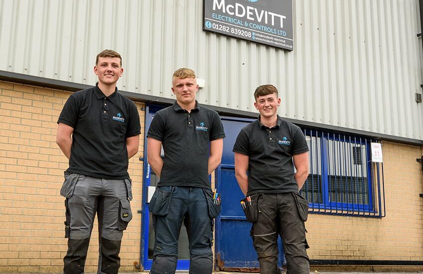 Apprenticeship Success At Fast Growing Electrical Contractors McDevitt Electrical & Controls