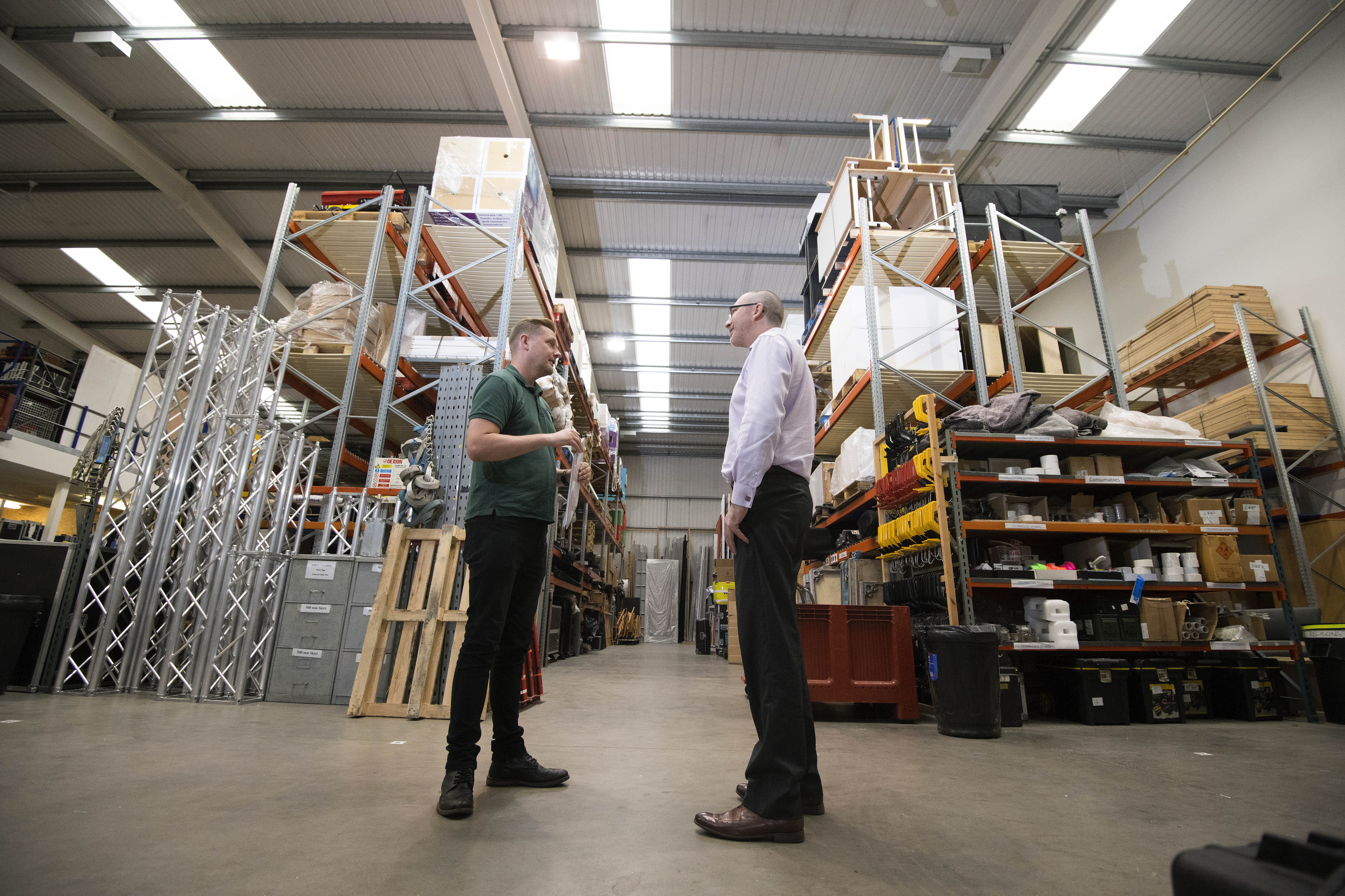 Leyland firm exhibits tangible savings thanks to MaCaW