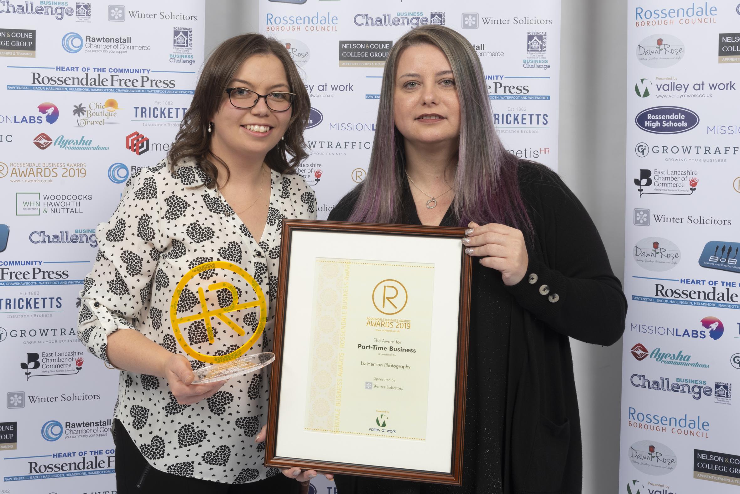 Tenth Anniversary Awards Showcase Rossendale Success