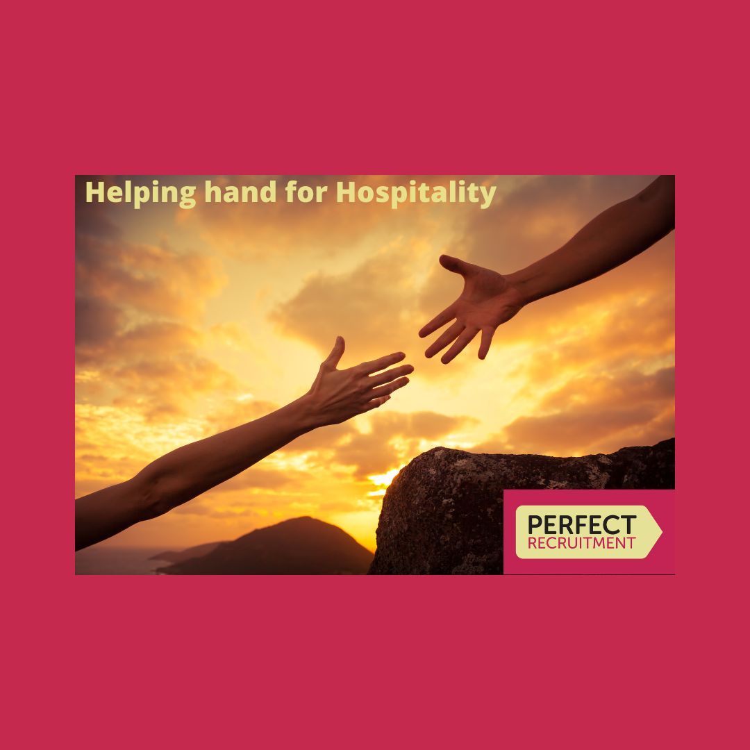 Helping hand for hospitality