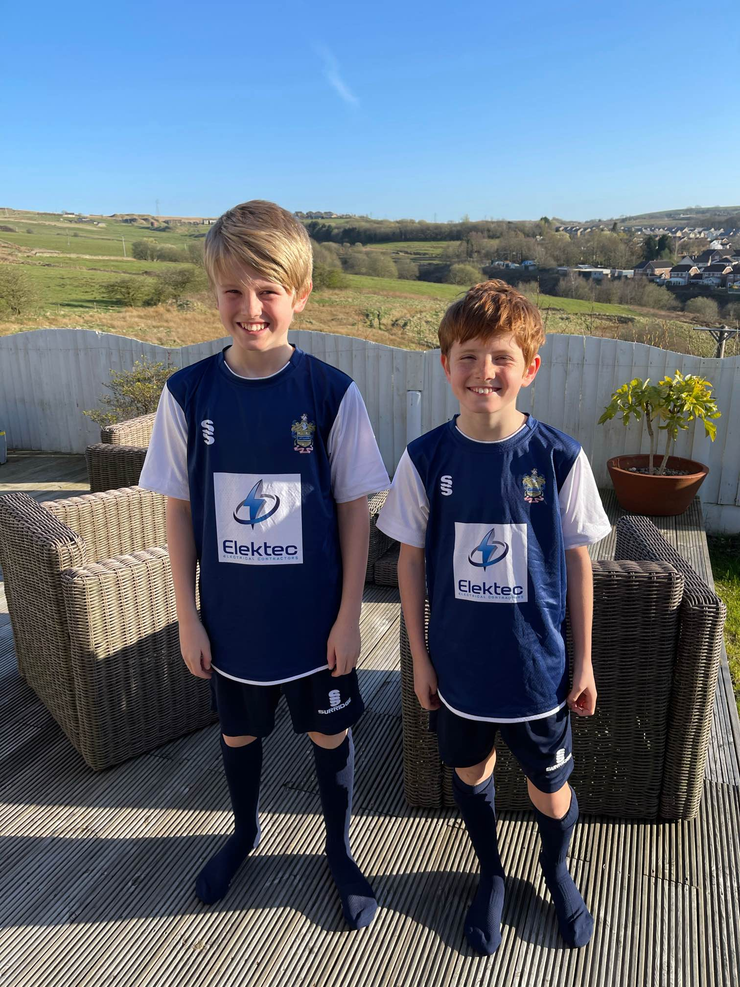Elektec to supercharge AFC Darwen U12's Football Kit