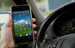 Mobile phones 'causing millions of collisions'