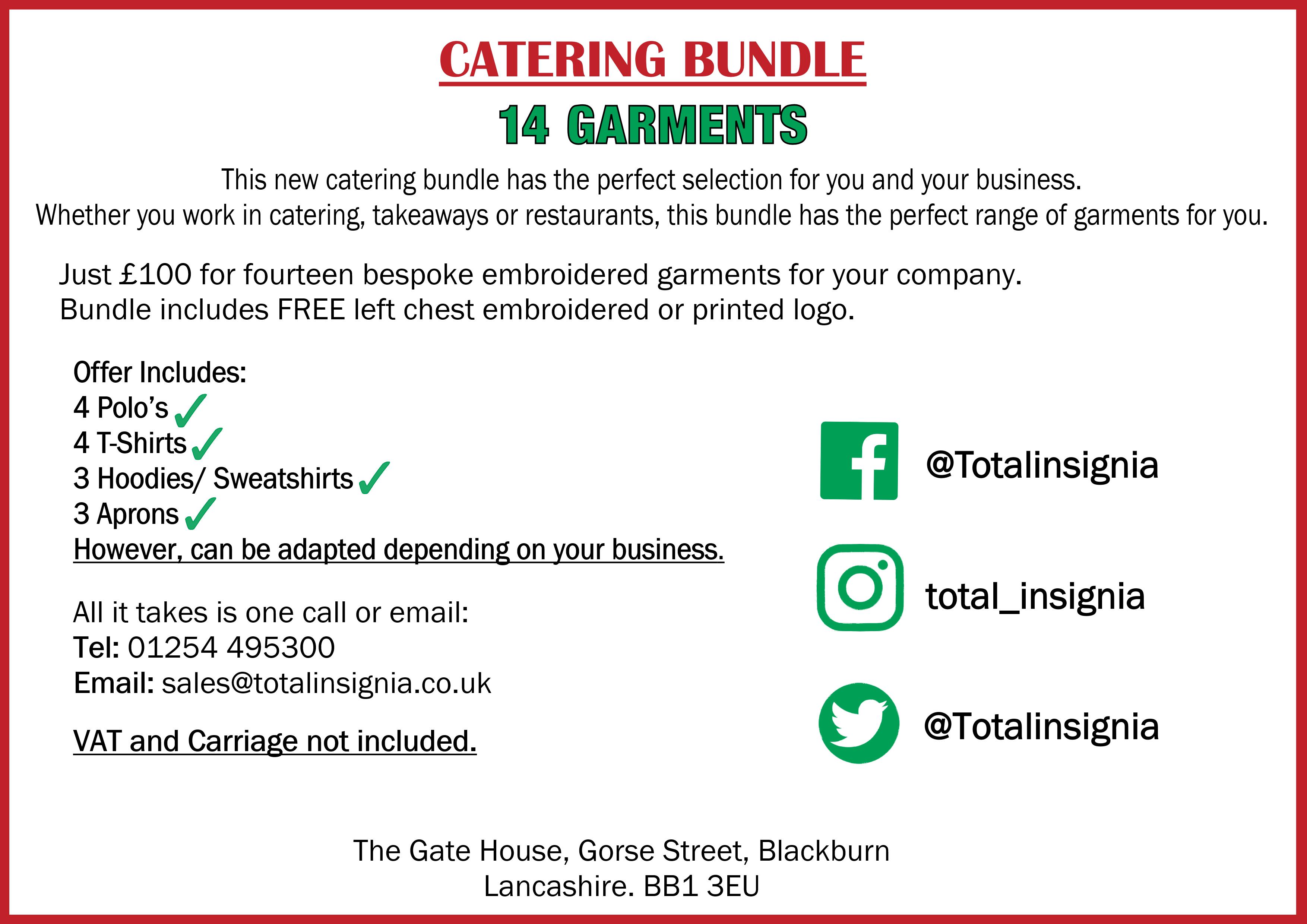 Catering Bundle