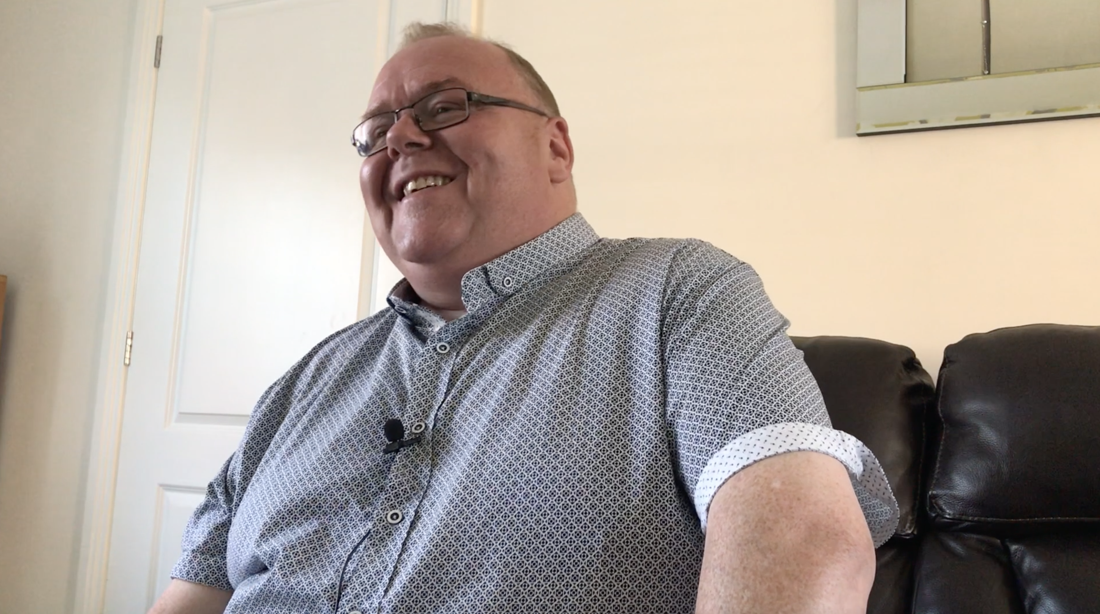 Foster Carer George talks about his Fostering Experience and Working with Caritas Care