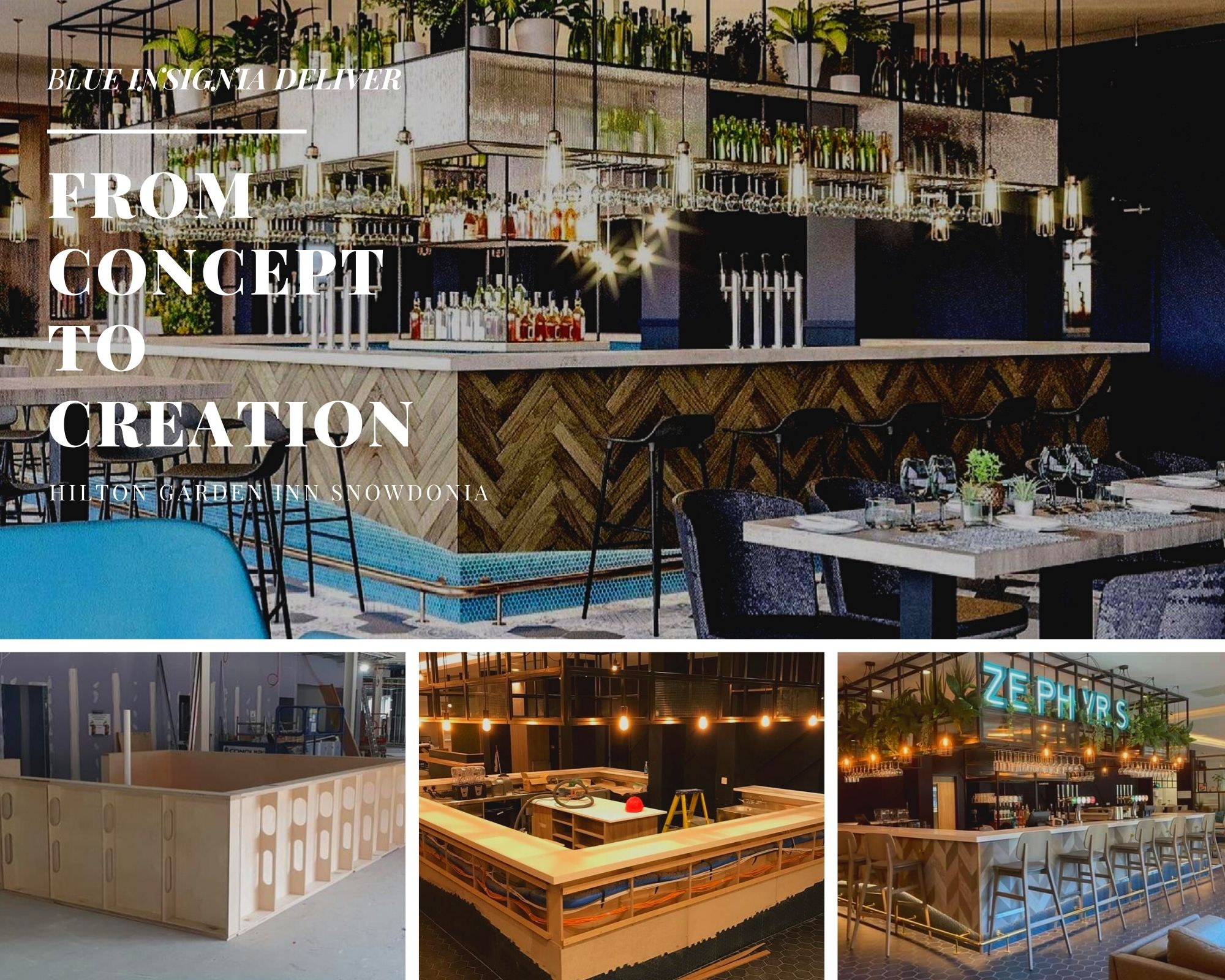 Blue Insignia Deliver Expert Joinery At The New Hilton Garden Inn.