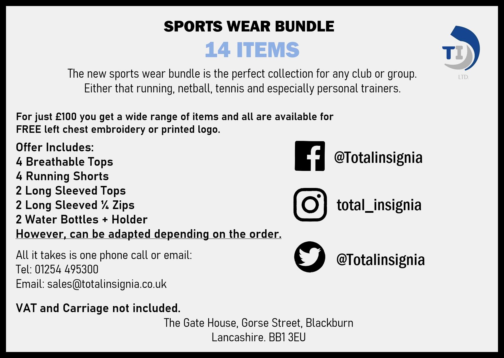 Sports Wear Bundle