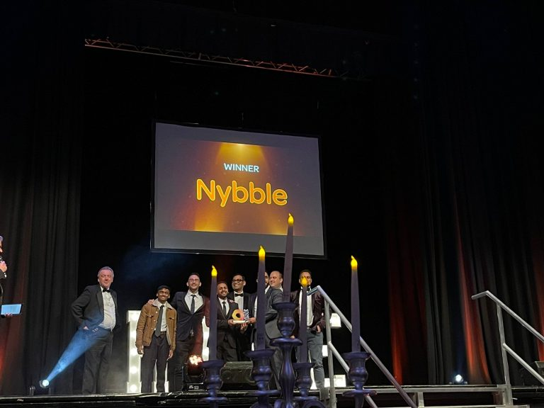 Nybble Wins Commitment to Blackburn with Darwen Awards at the 2021 Hive Awards