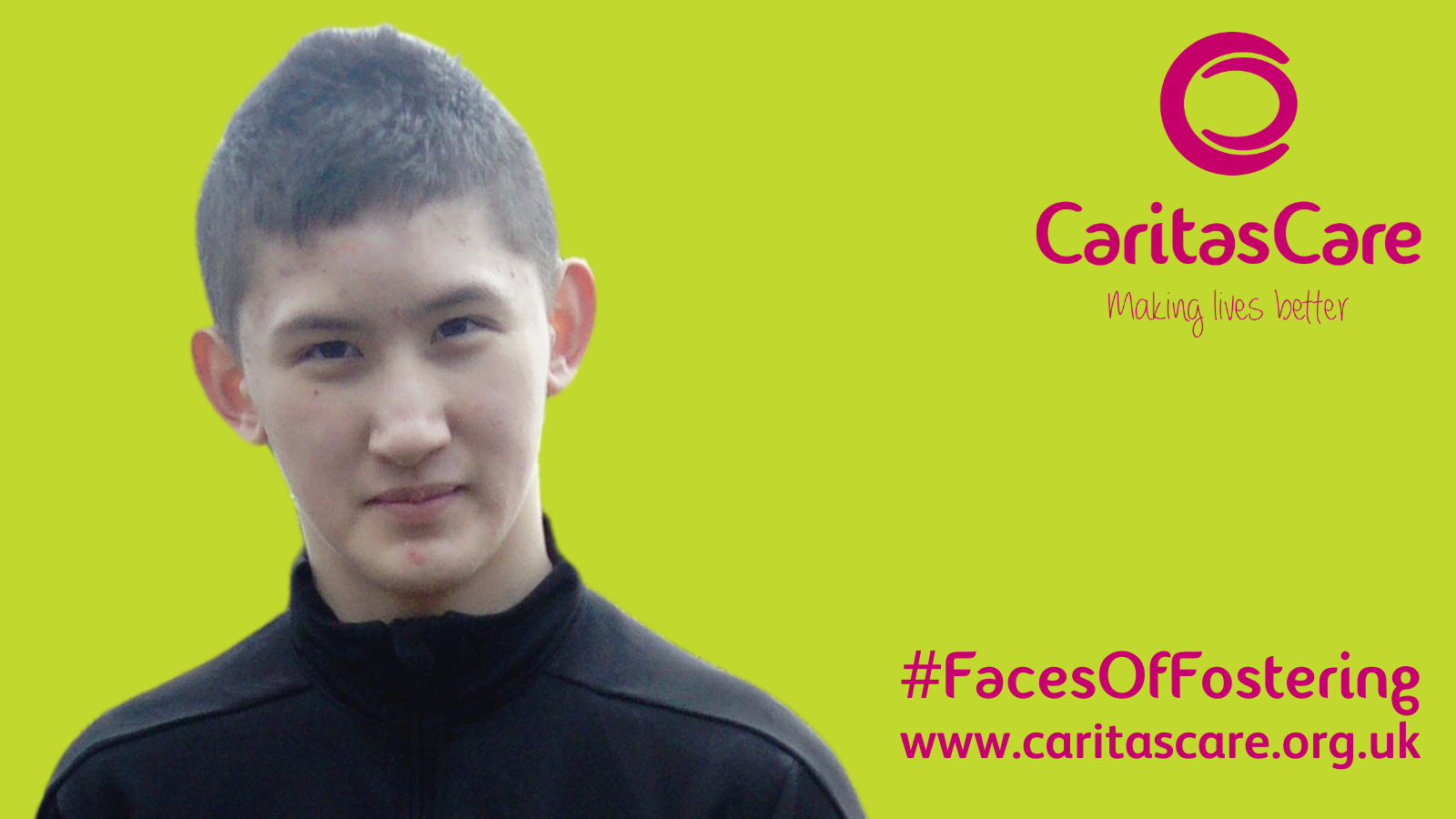#FacesOfFostering - Byron and his journey in Foster Care (in his own words)