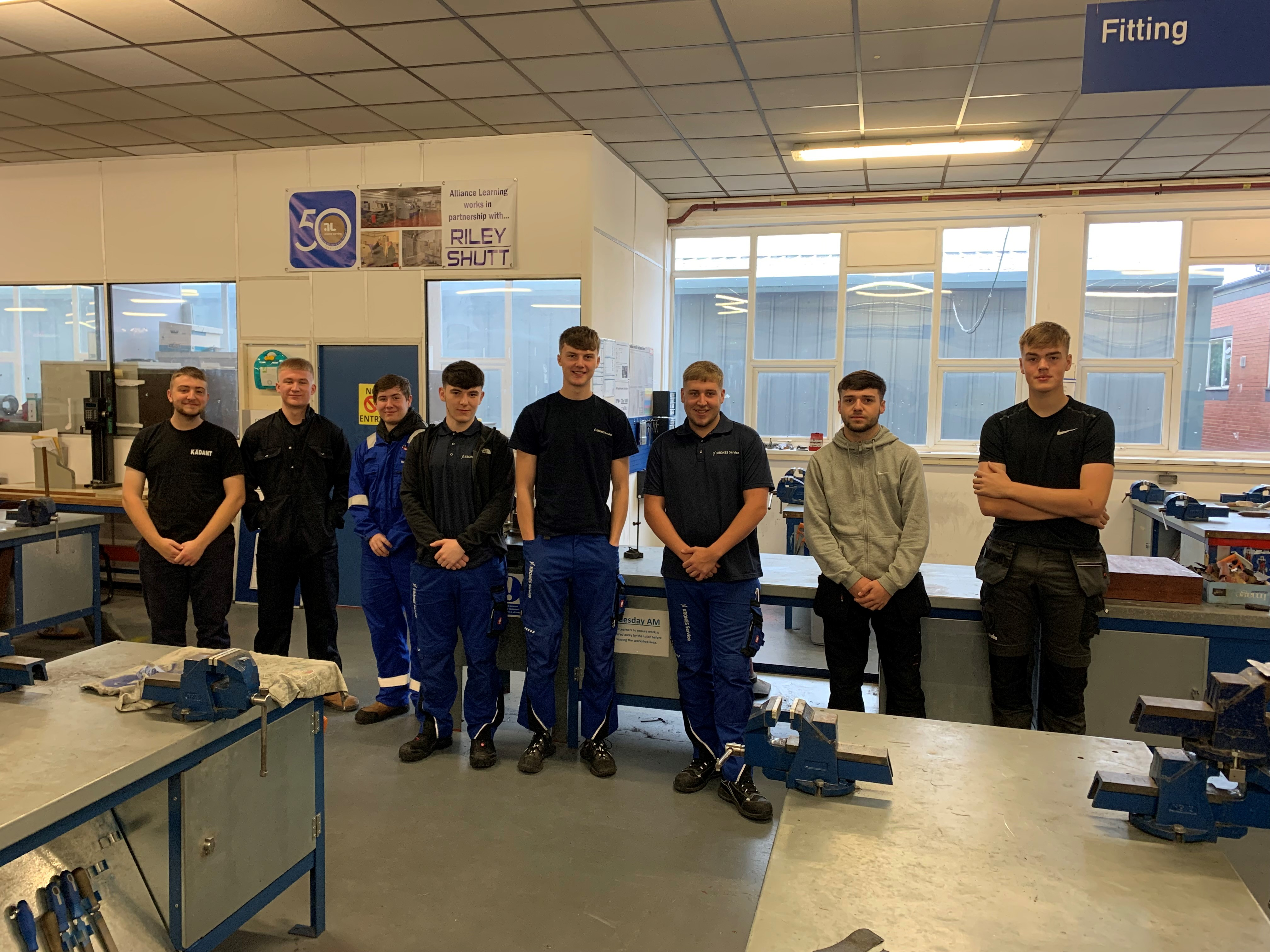 Alliance Learning welcomes over 80 new Engineering Apprentices, despite pandemic!